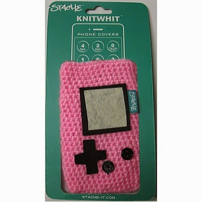 Funda crochet para móvil Game Girl