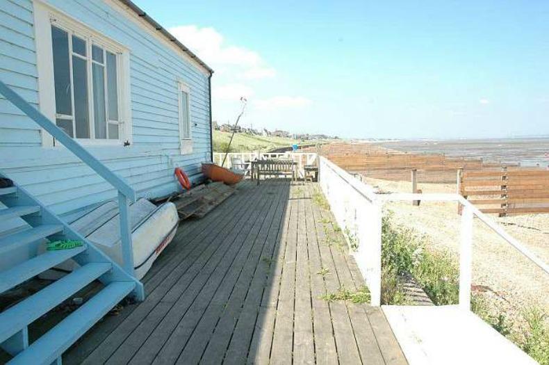 coastal beach house deck