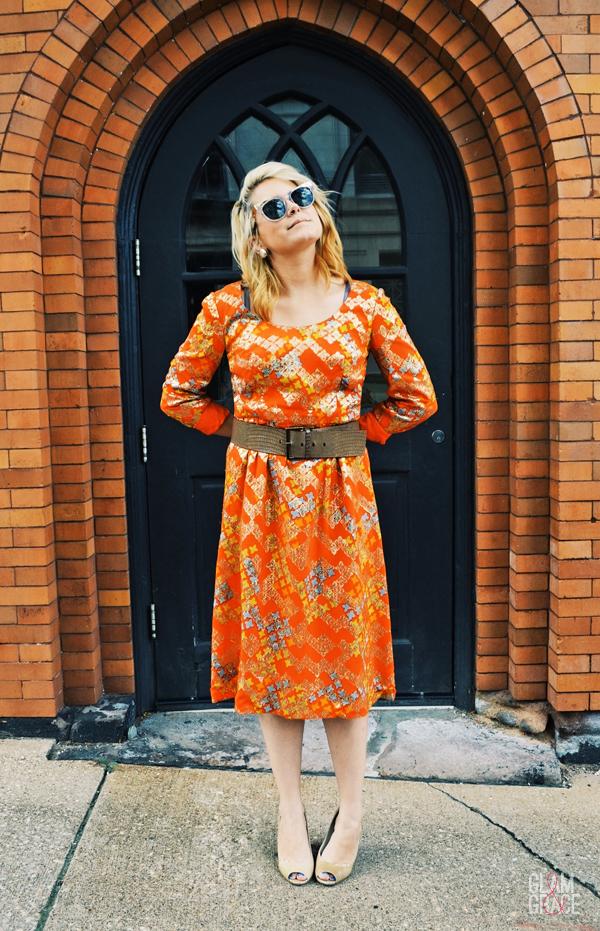 1960's vintage dress - Akron Ohio fashion