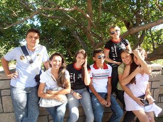 Imágens do encontro para Jovens da Paróquia do Sagrado Coração de Jesus, Almino Afonso - RN