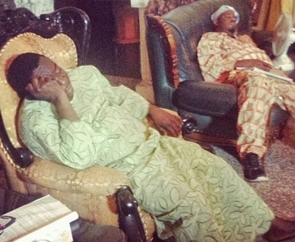 mr ibu sleeping on movie set