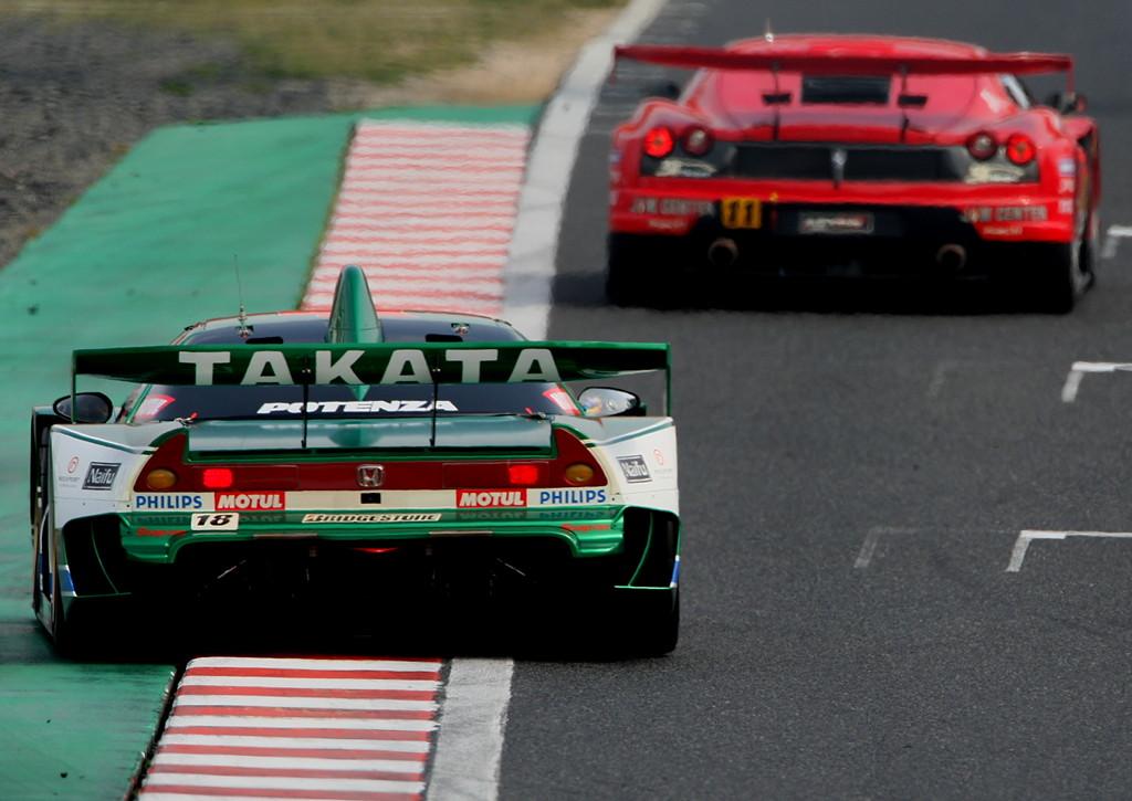 Honda NSX japoński supercar sportowy samochód kultowy V6 RWD VTEC wyścigi racing JGTC Super GT GT500 日本車 ホンダ アキュラ
