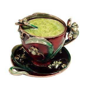 Trinket Coffee Cup Box