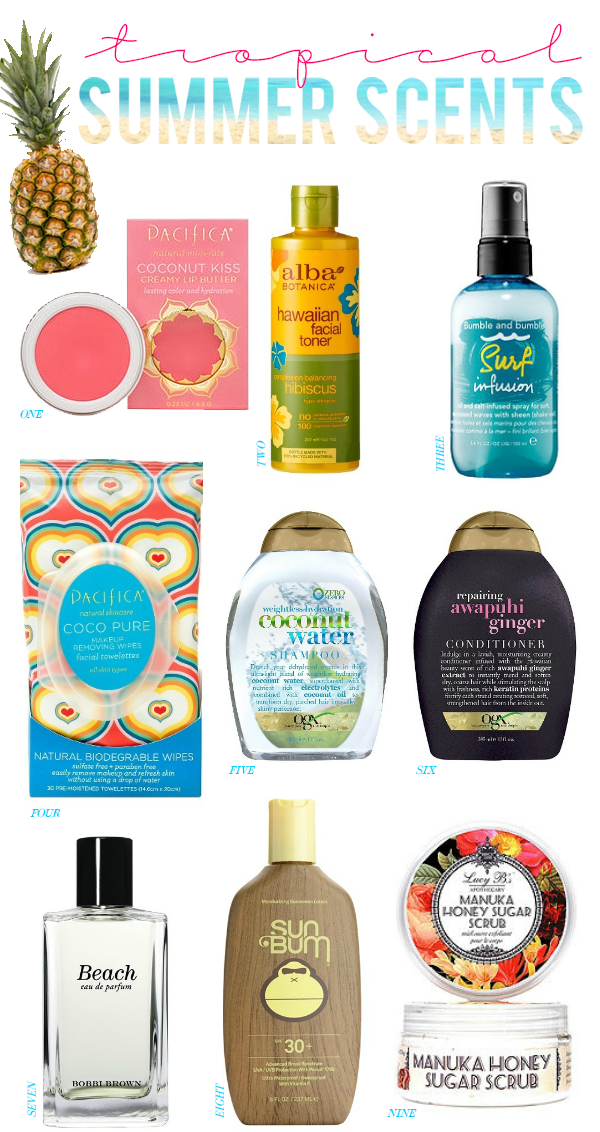 Tropical Summer Scents