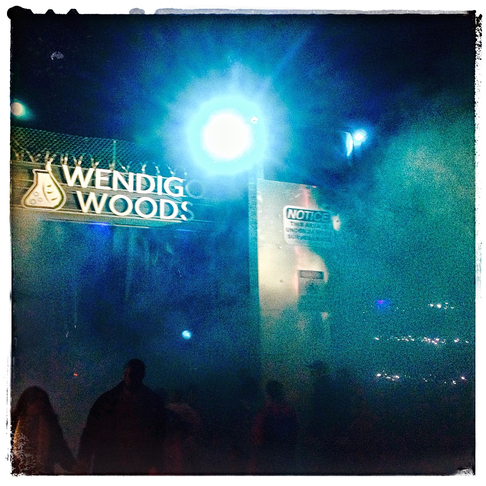 Wendigo Woods at Busch Gardens, Williamsburg via foobella.blogspot.com