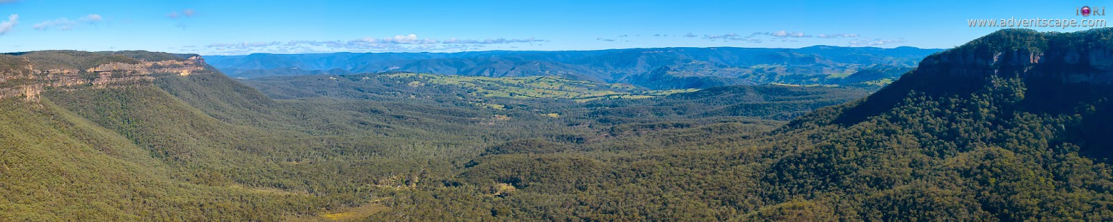 Philip Avellana, Australian Landscape Photographer, Katoomba, NSW, New South Wales, Australia, Blue Mountains, Boar's Head, lookout, Cahills lookout, vantage point, Cliff Drive, entrance, Megalong Valley, Narrow Neck, Jamison Valley
