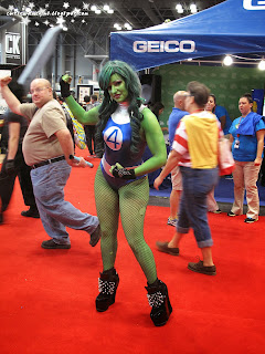 comic con 2013,october 11th 2013,saturday,sunday,comic con sunday,comic con saturday,new york,nyc,manhattan,jacob javits center,newyork,she hulk,cosplay,