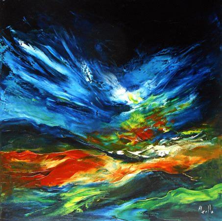 Lumières d'automne par Axelle Bosler (vide atelier)