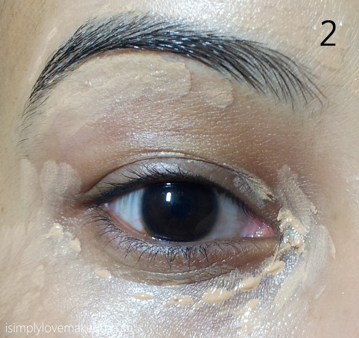 Tutorial eotd sparkly brown eyes do up your brows and apply a shimmery eye shadow on your lids as well as on your lower lashline i have used mac genuine treasure paint pot baditri Images
