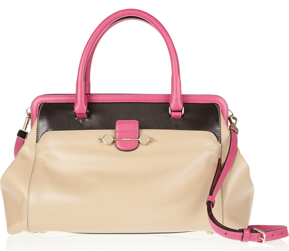 Jason Wu Daphne Colorblock Leather Tote