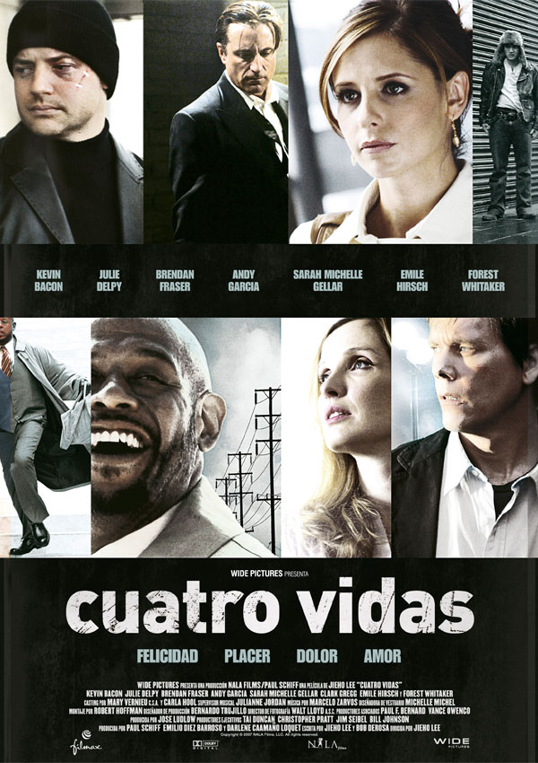Cuatro vidas movie