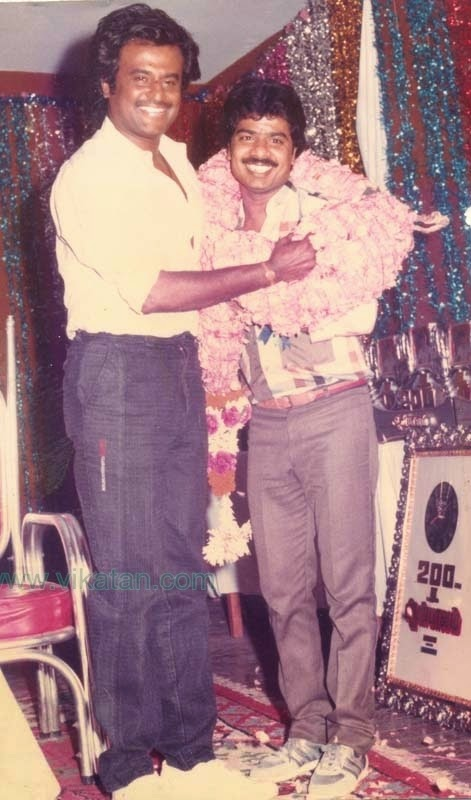 RAJINIKANTH WITH PANDIYARAJAN