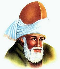 Gambar Sufi dan penyair puisi Terkemuka jalaludin Rumi