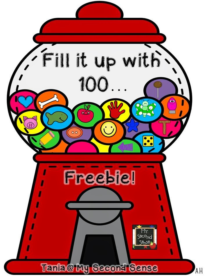 100th Day of School 2015 {100th Day of School Freebie}