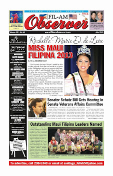 Fil-Am Observer July 2013 Issue