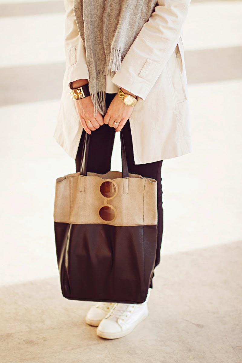 Types of bags: Tote - Tipos de carteras: Tote