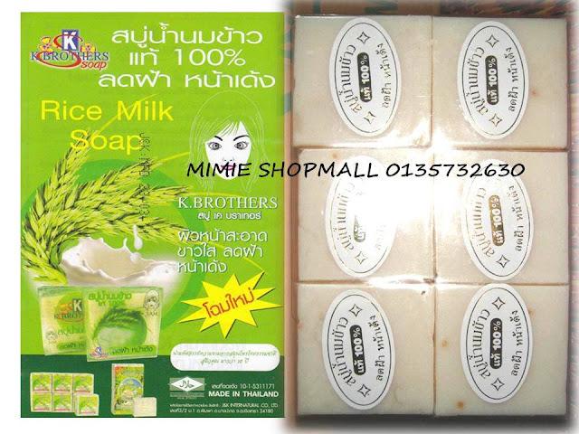 sabun susu beras murah