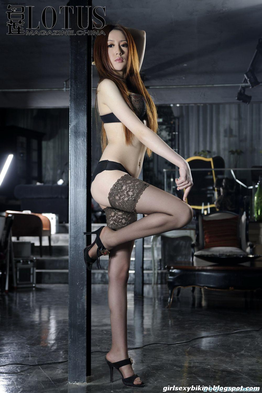 Liu Lulu sexy lingerie