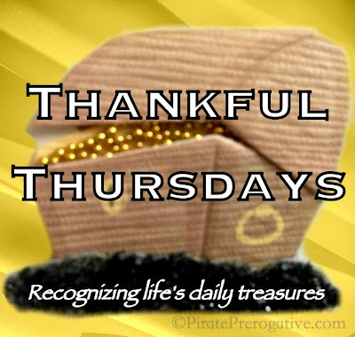 Thankful Thursdays #33 www.pirateprerogative.com