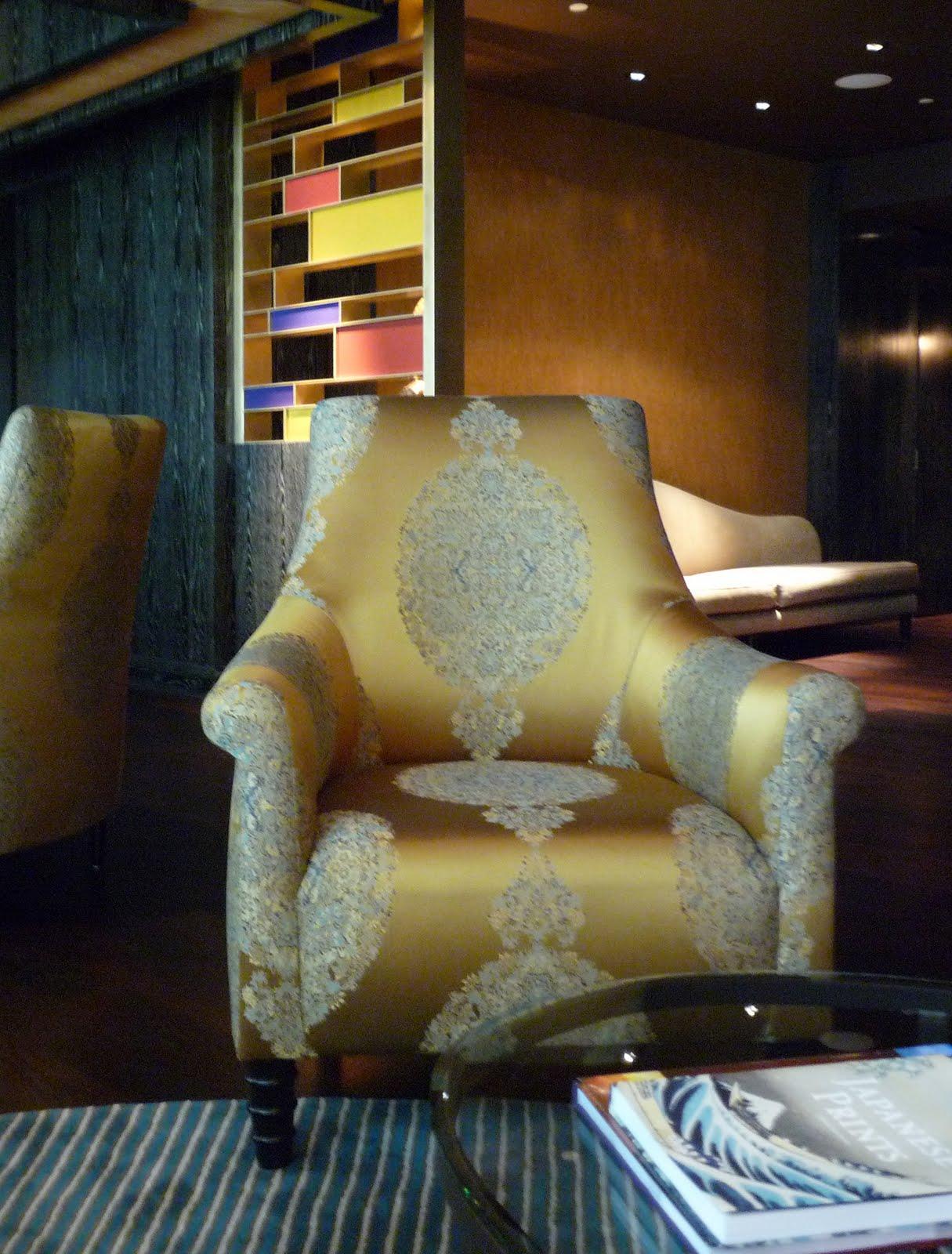 spa waiting room chair,
