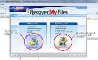 Cara Menggunakan Recover My Files dengan Mudah