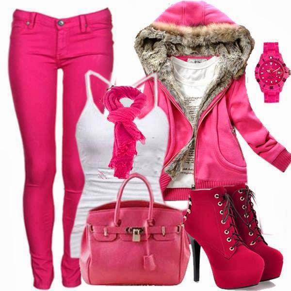 woman dress pink