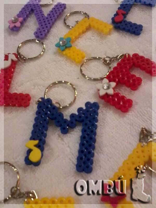 Llaveros con Hama Beads