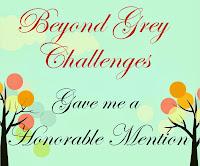 Beyond Grey Challenges - Wyróżnienie
