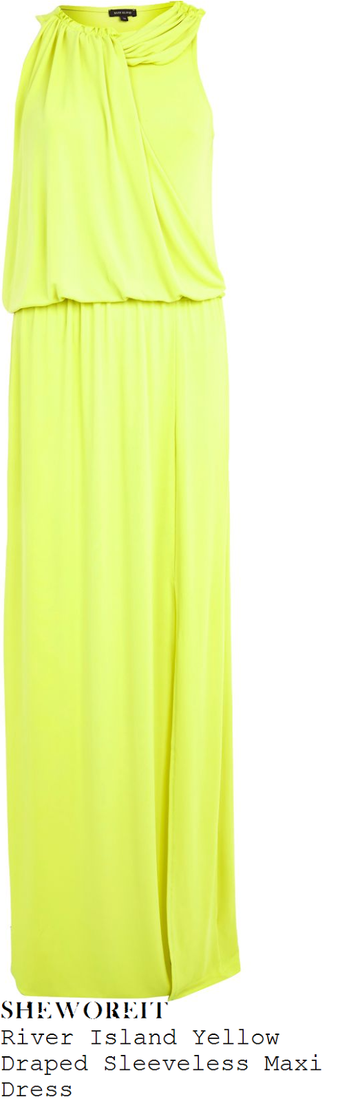 tamera-foster-yellow-sleeveless-draped-maxi-dress-x-factor