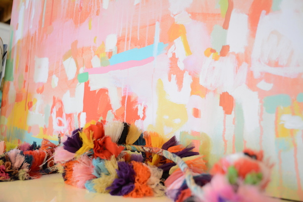 Michelle Armas Abstract Painting Furbish Studio | Southern Arrondissement