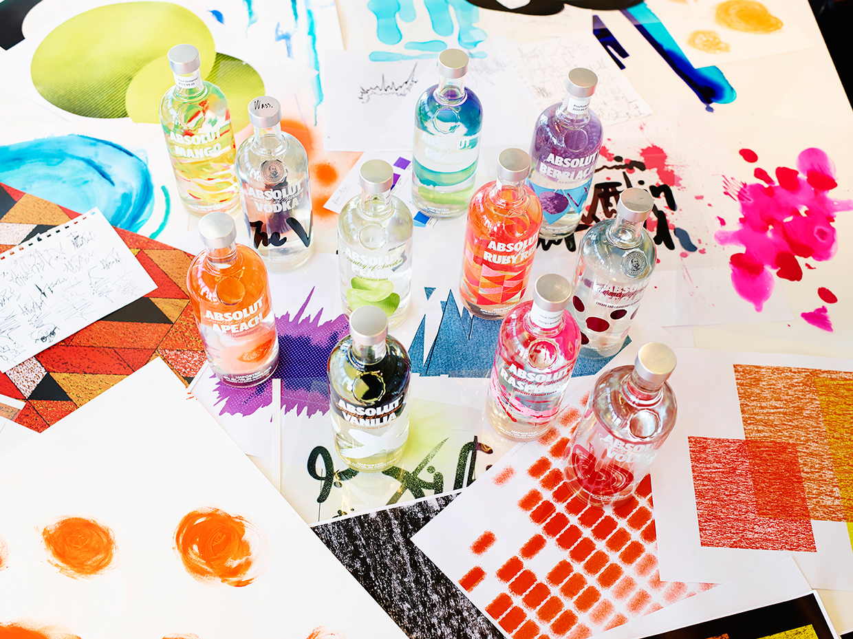 Absolut Flavours On Packaging Of The World Creative