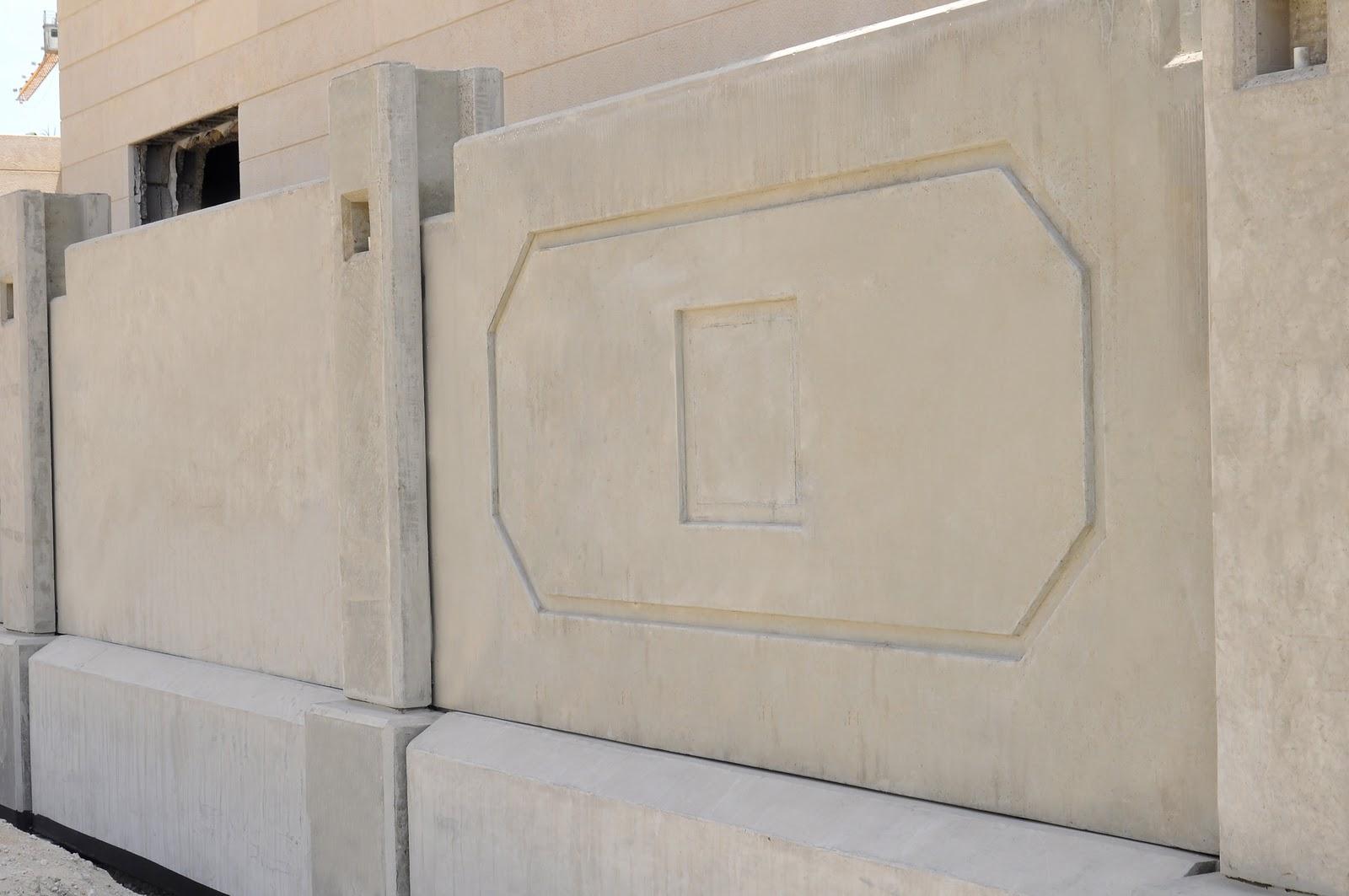 Concrete Baffle Wall Design : Precast concrete wall panel design
