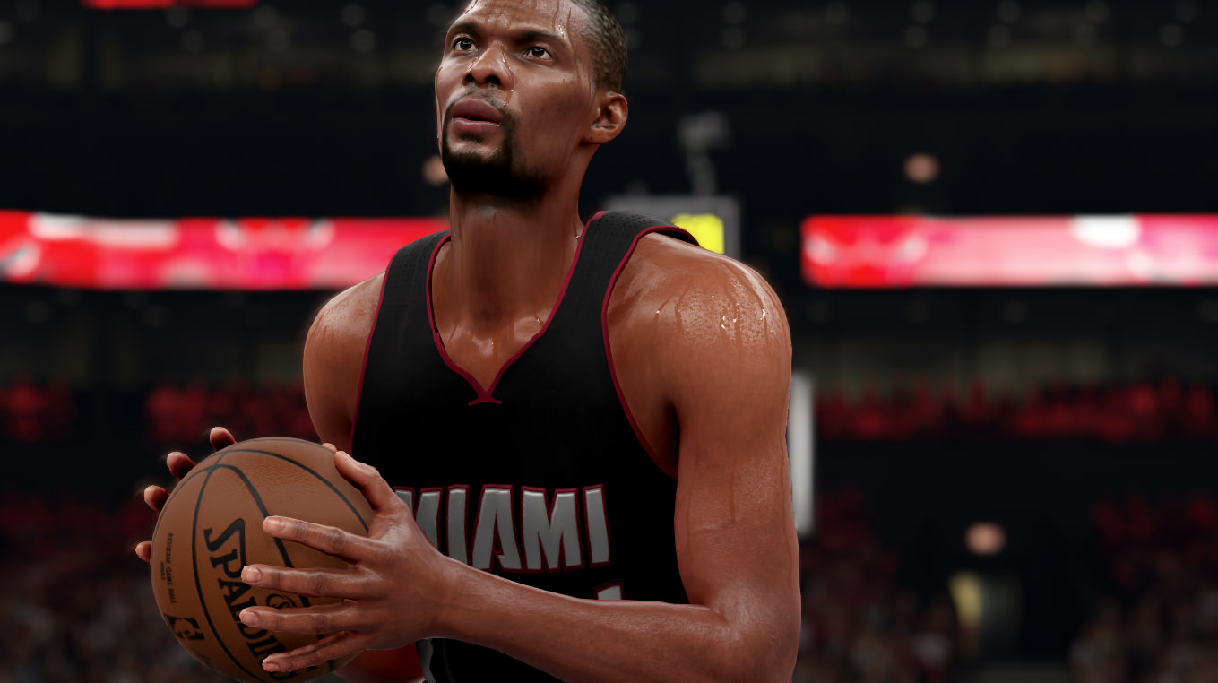 NBA 2k16 Screenshot - Chris Bosh Heat