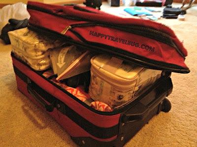 My full suitcase