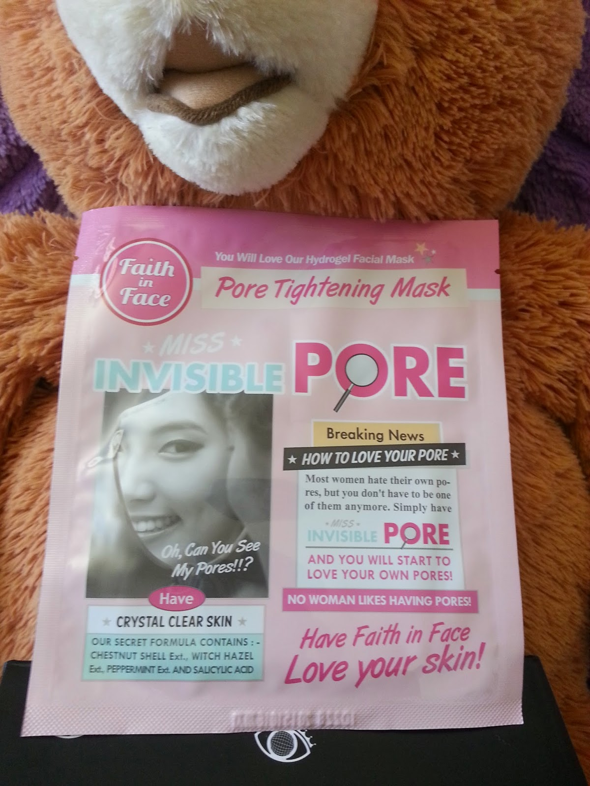 Faith in Face Miss Invisible Pore Hydrogel Mask