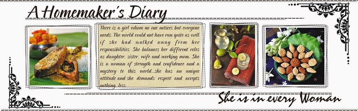 A Homemaker's Diary
