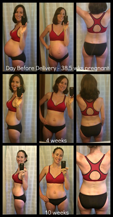 Physical body changes after pregnancy - 10 weeks