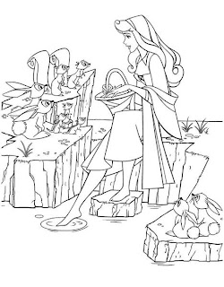 Precious Moments Princess Coloring Pages