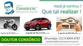 DOUTOR CONSÓRCIO: O maior especialista de consórcio no Brasil.
