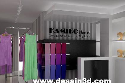 Desain Interior Butik Rumahan