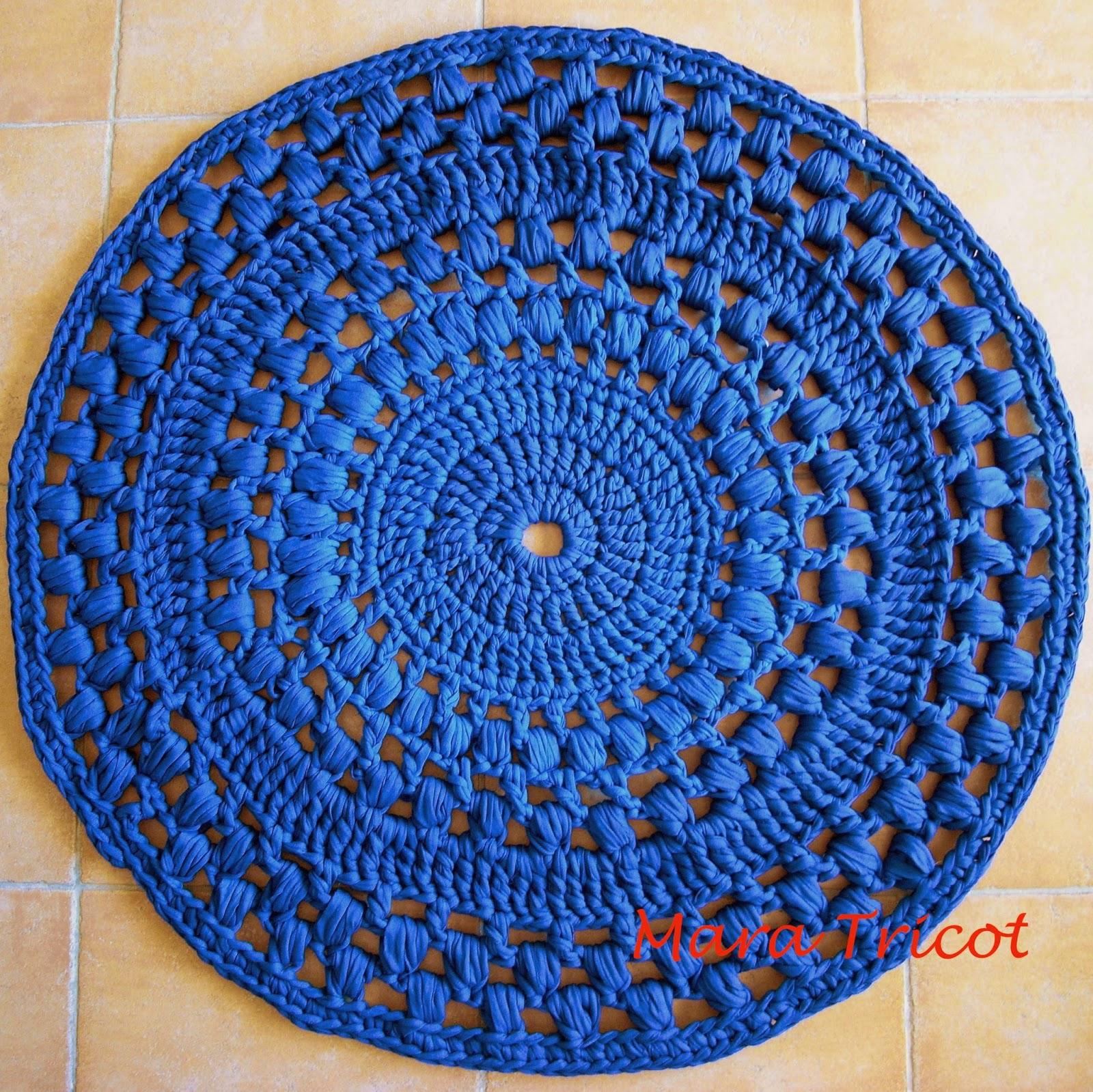Dycas alfombras de trapillo en crochet - Alfombras ganchillo trapillo ...