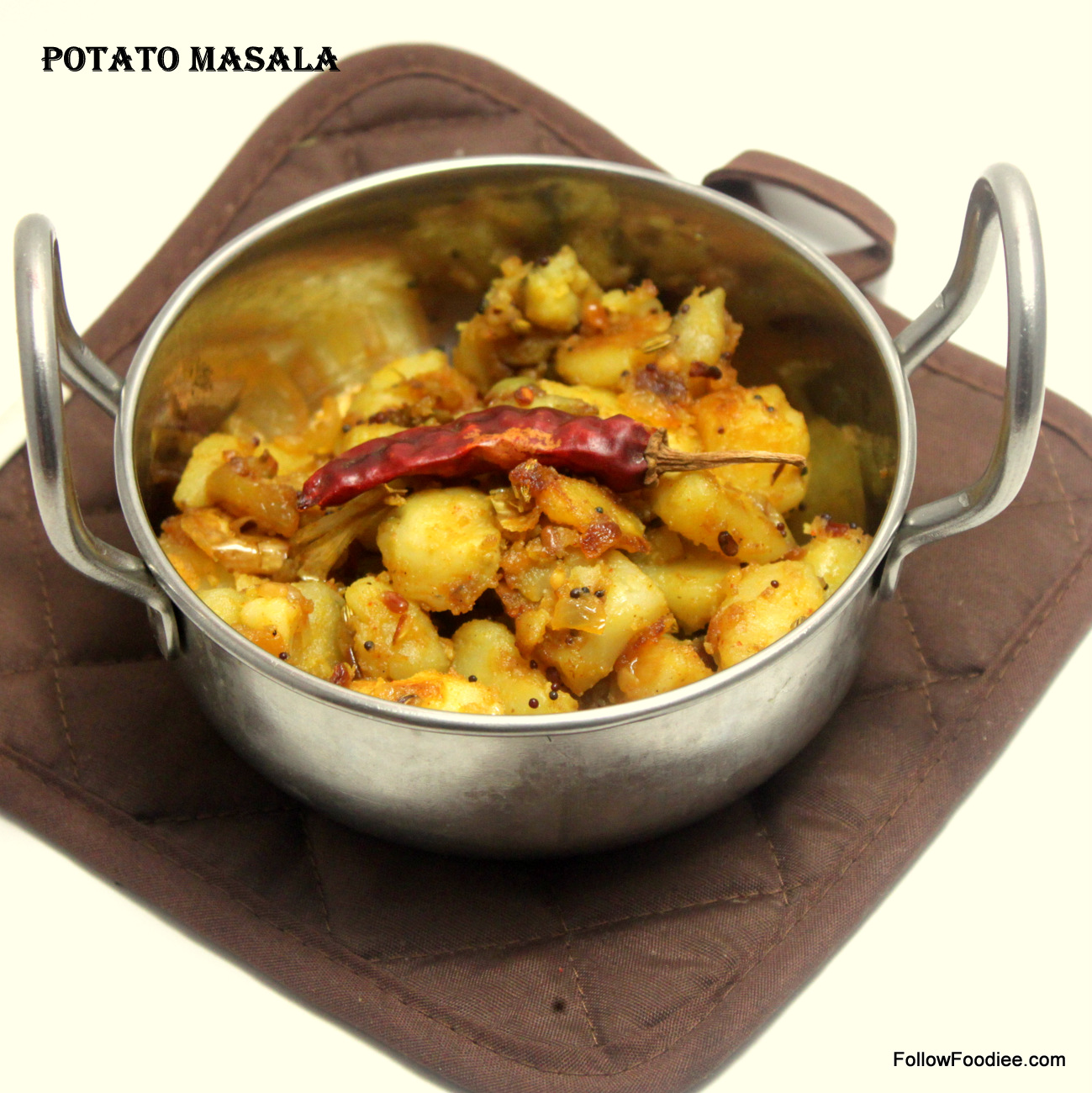 Easy potato Masala Recipe