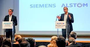 Descarrila la fusión de Alstom-Siemens, pretendidamente para  plantar cara a la china CRRC