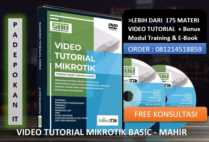 Jual Video Tutorial Mikrotik