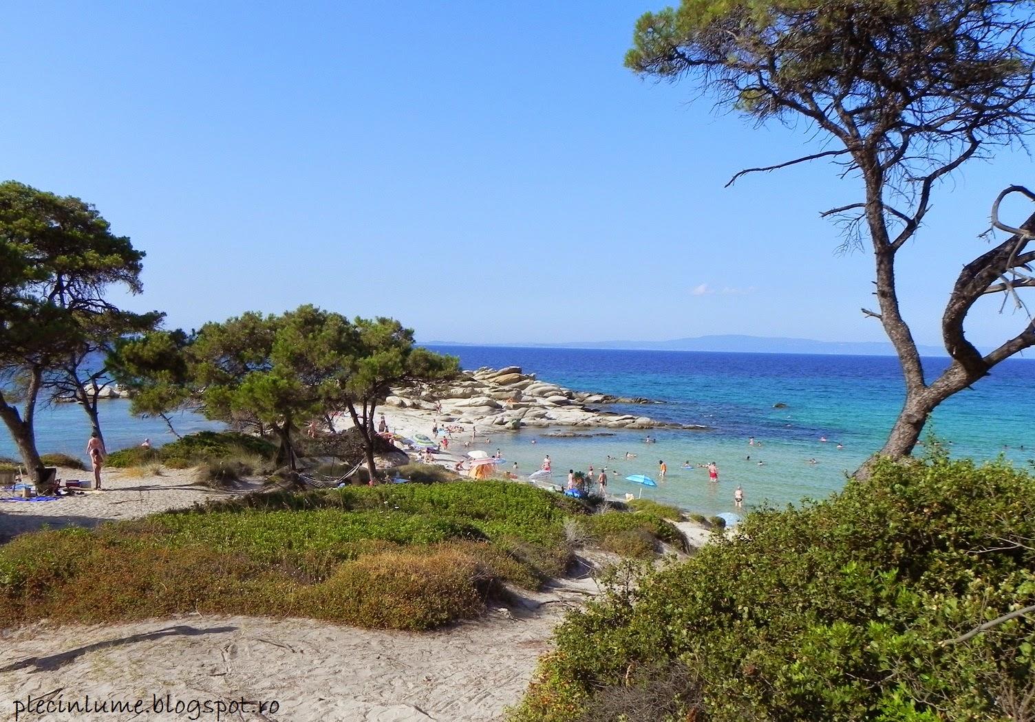 Plaja din Vourvourou