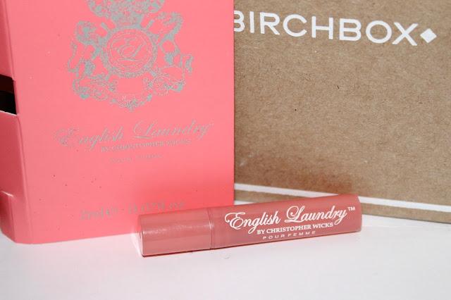birchbox november 2013, birch box review, english laundry christopher wicks perfume