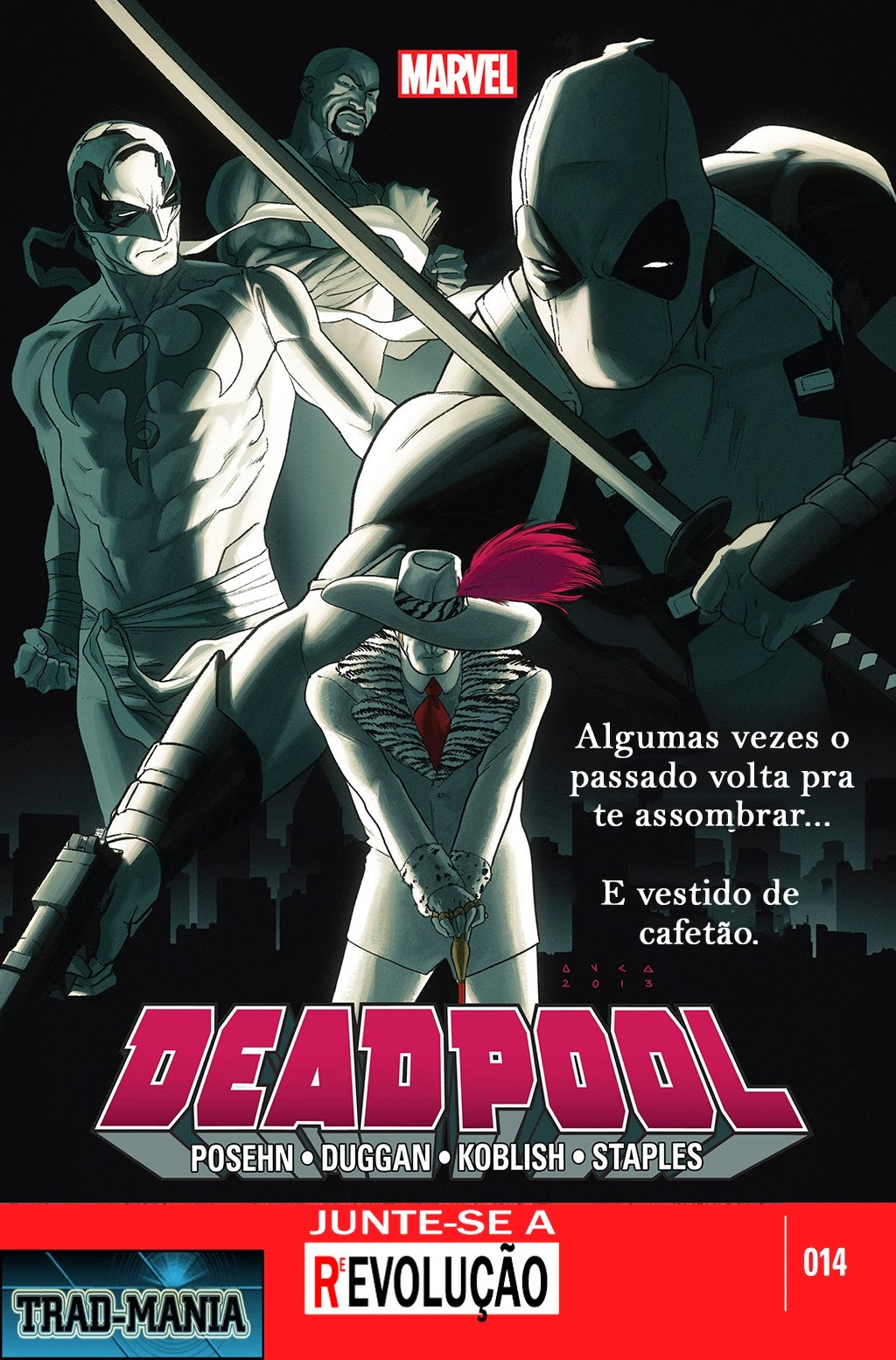 Nova Marvel! Deadpool v5 #14