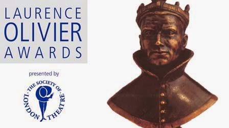 Olivier Awards Nominations on Monday March 9