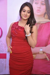 Harshika Pooncha latest Pictures in red 006.jpg