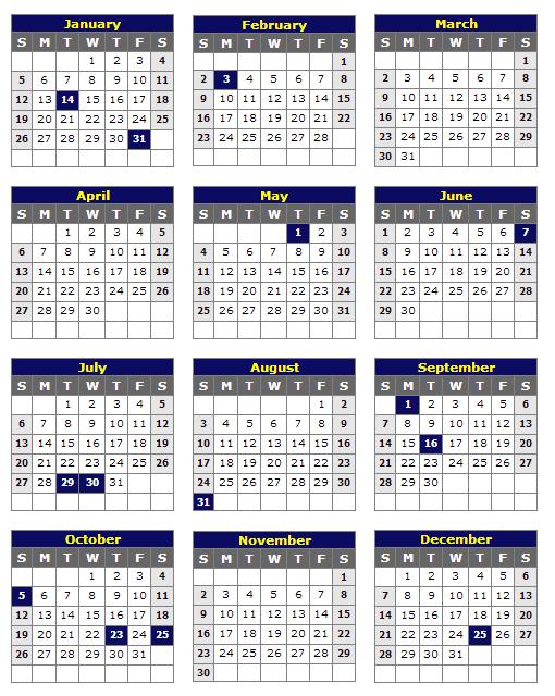 Kalendar Cuti Sekolah 2014
